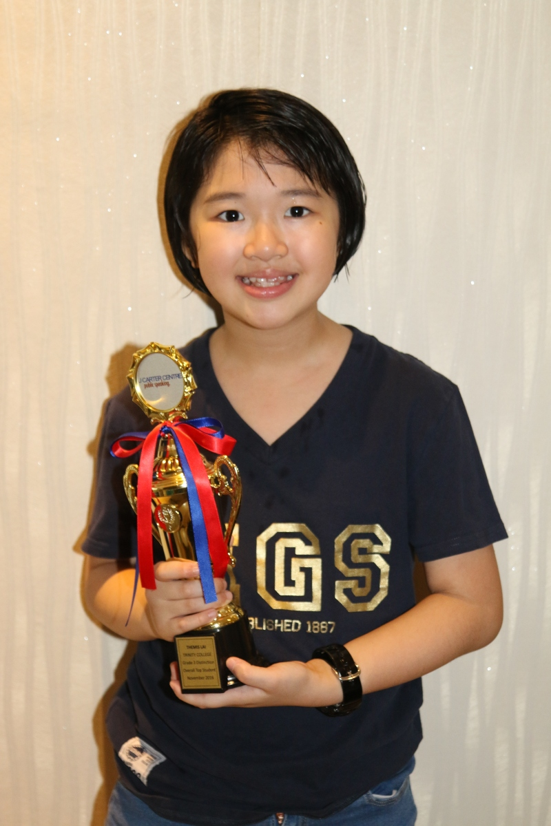 Another Perfect Score in the Trinity College Graded  Examinations in Communication  Skills - Themis Lai