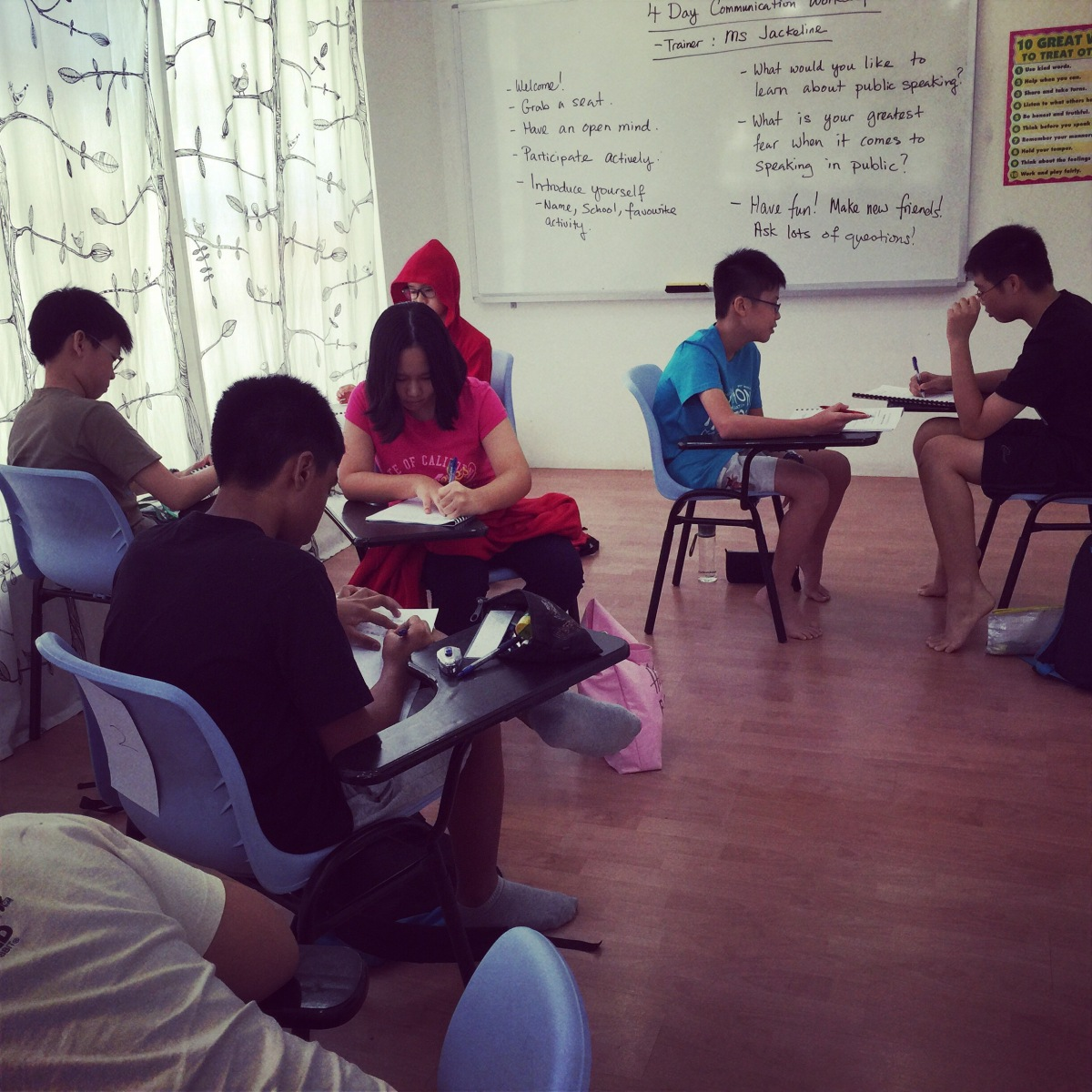 June Holiday Workshops: Oral Exam Preparation for Primary students
