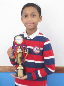 2017 May Trinity Top In Grade 2- Muhammad Putera Abdullah Rosebi (1)