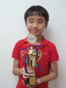 2017 November LAMDA Top in Grade 3 - Chow Li Kuan