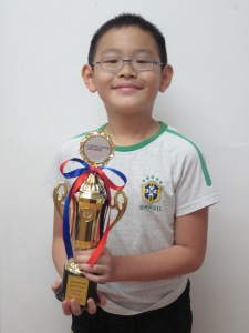 2017 November Trinity Top in Grade 2- Luke Wang Enze