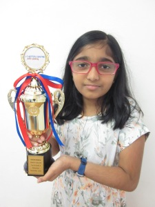 2017 November Trinity Top In Grade 3 - Gauri Madhu
