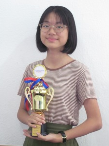 2017 November Trinity Top In Grade 7 - Reyna Ong Siting